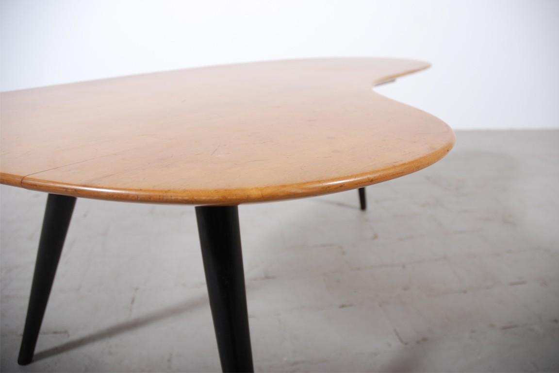 table basse knoll 1950 jasper. Black Bedroom Furniture Sets. Home Design Ideas
