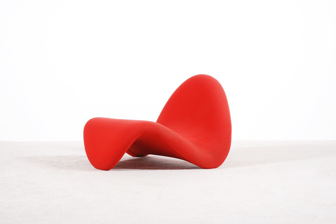pierre paulin tongue chair artifort first edition 1960 1967