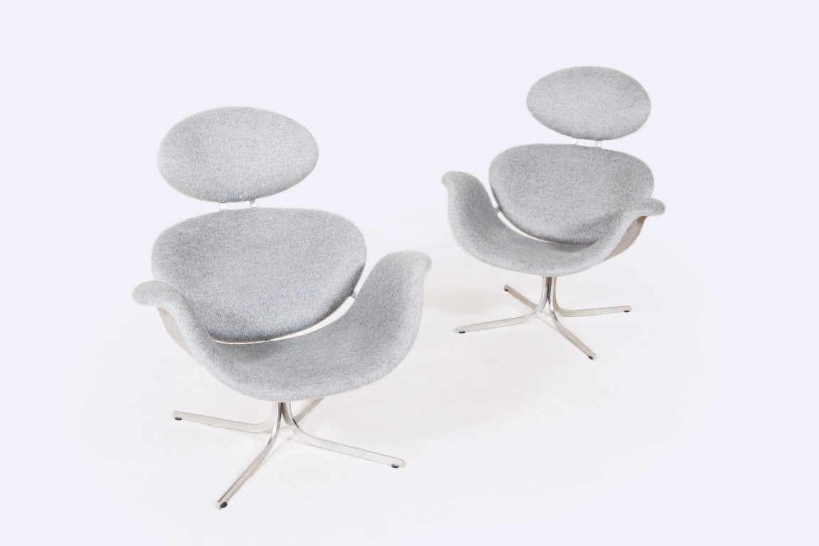 pierre paulin first edition big tulip artifort armchair 1959