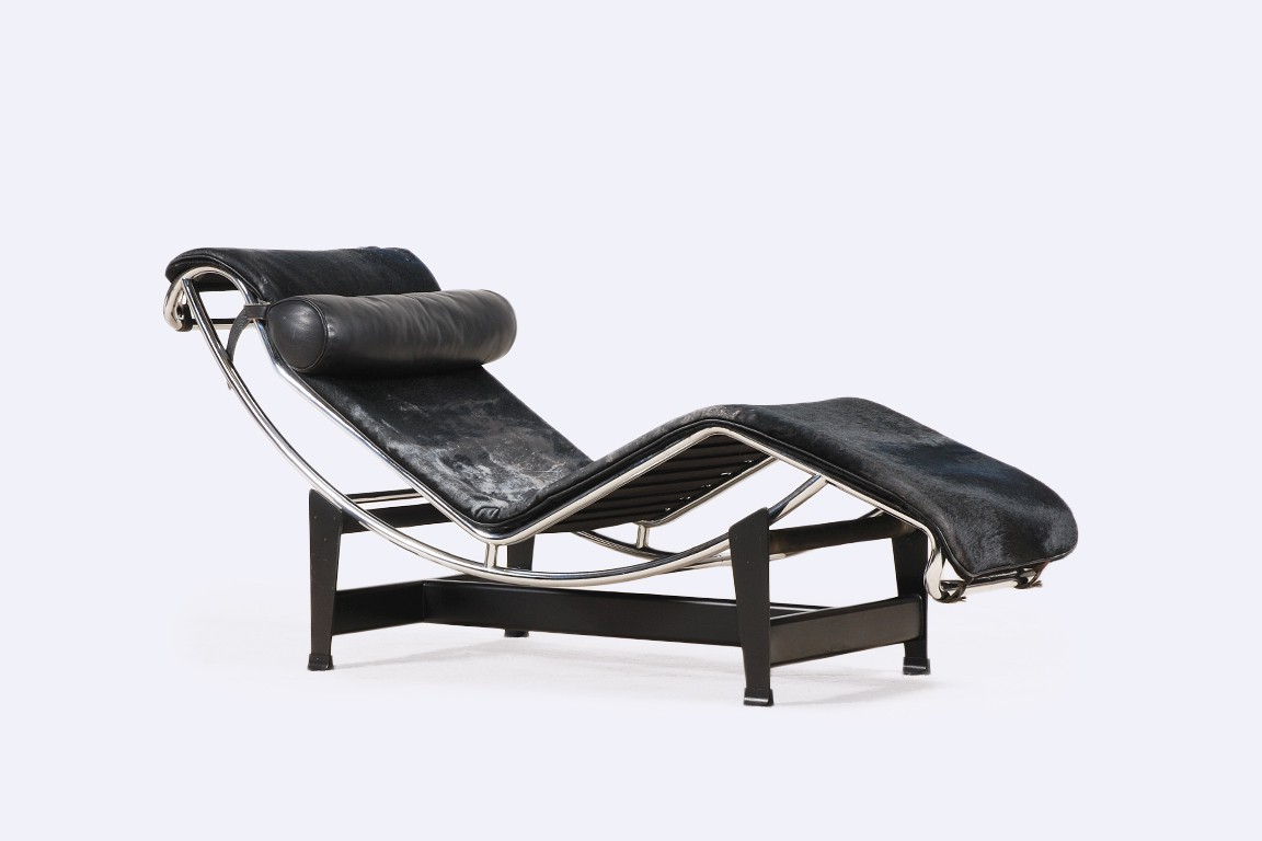 le corbusier chaise longue lc4 1980 jasper. Black Bedroom Furniture Sets. Home Design Ideas