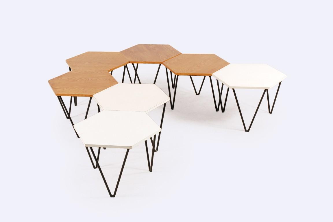 Gio Ponti Set Of 7 Coffee Tables 1950 Jasper