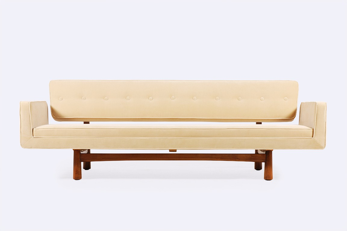edward wormley dunbar canapé 5316 new york velvet kvadrat