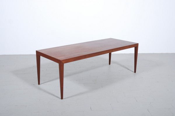 Severin Hansen Teak Coffee Table Haslev 1960 danish vintage