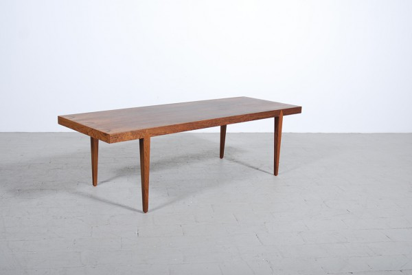Severin Hansen Rosewood Coffee Table Haslev 1960 vintage
