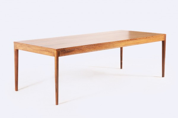 Finn Juhl Table rosewood conference Diplomat series vintage