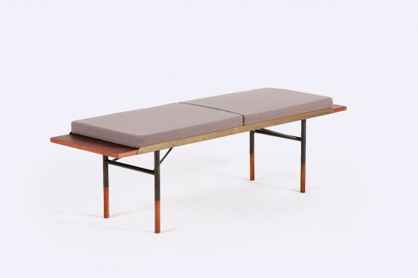finn juhl bovirke teak bench low table danish 1950 1960 1952