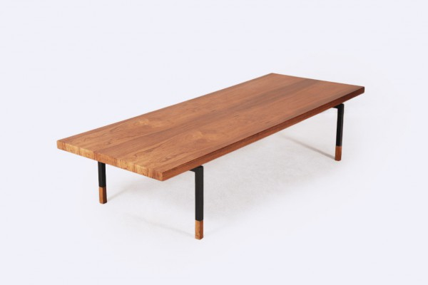 aasbjerg bolighus coffee table rosewood danish vintage 1960