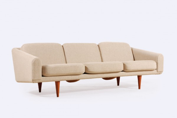 illum wikkelso danish vintage sofa fabric 1958 1960 teak