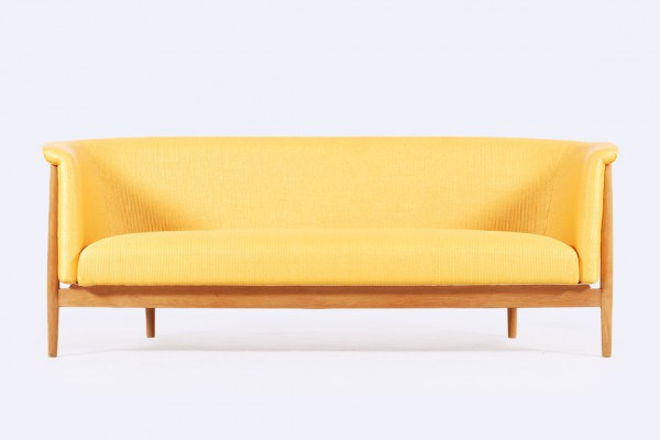 nanna ditzel soren willadsen sofa yellow nobilis 1950 1960