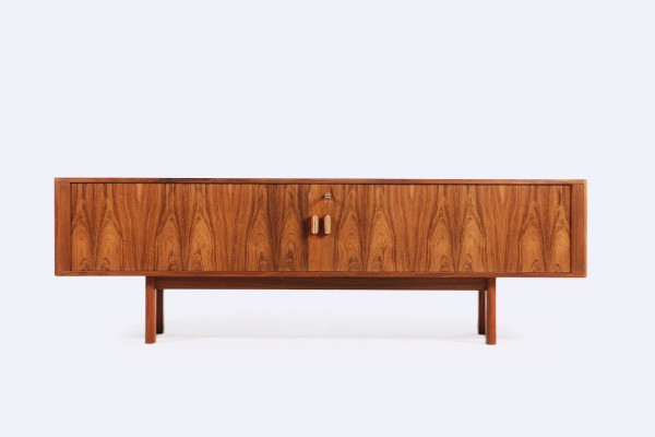 arne vodder sibast furniture low rosewood sideboard 1960