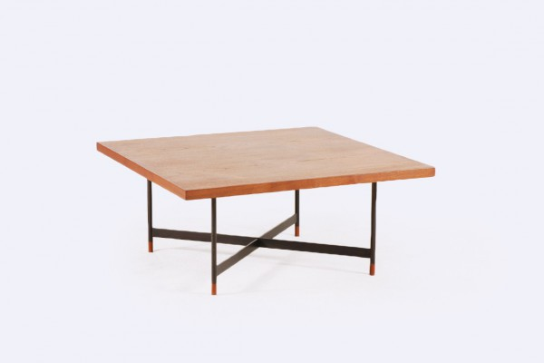 finn juhl niels vodder teak coffee table fj-57 1957 1960