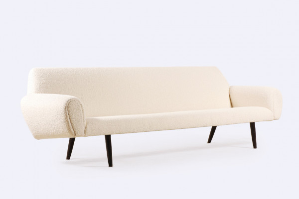 four seat sofa kurt ostervig danish wool design 1950 1960