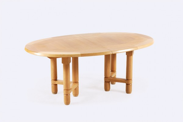 guillerme chambron elmyre table oak votre maison 1960 french