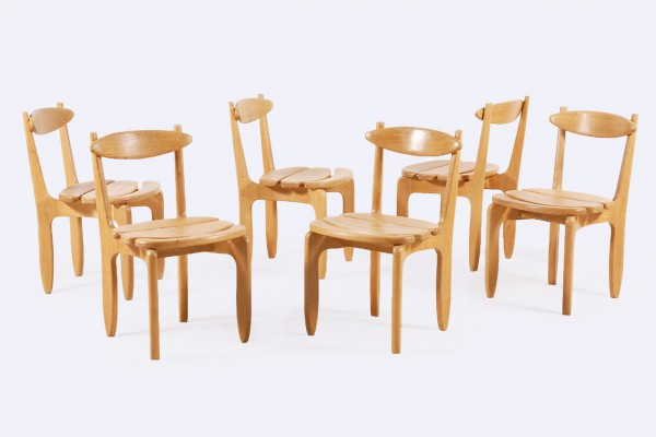 guillerme chambron votre maison chair thierry oak 1960 1950