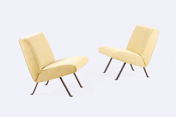 joseph andré motte steiner 740 low easy chair 1950 1960